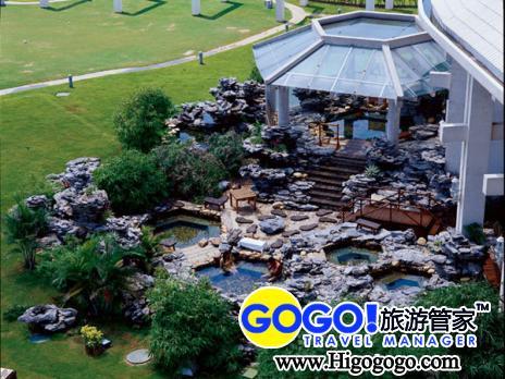 是海口市顶级豪华滨海温泉渡假酒店之一